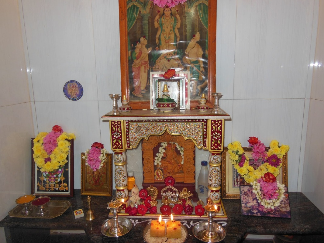 Worship And Religious Practices Hinduism - Home altar designs